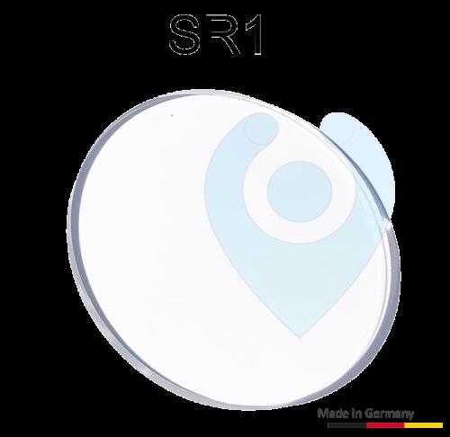 SR1 ko-rep Sensorplättchen Gel Plättchen mit Folie für die Windschutzscheibe Frontscheibe