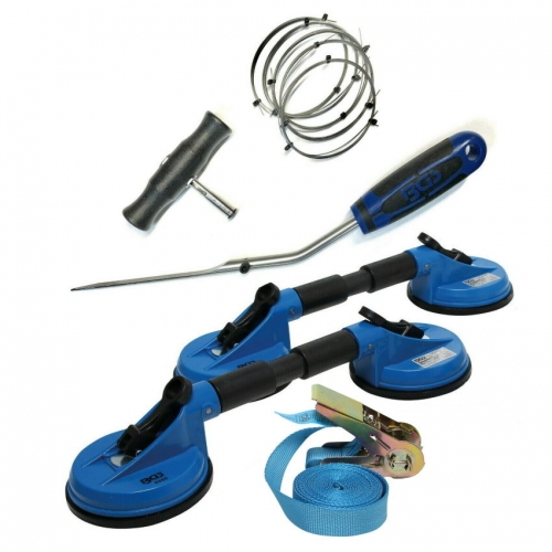 Autoglas Werkzeuge Frontscheibe Windschutzscheibe Montageset Profi von BGS 6 Tlg