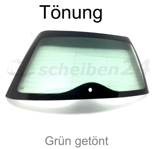 Heckscheibe für Mini Mini Typ R50 Bj.2004-2006 Grün getönt SH-HSG295