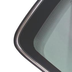 Scheibenrahmen Gummiprofil mit Chromkeder für Audi 80 - 90 - 100 - 200 - Coupe