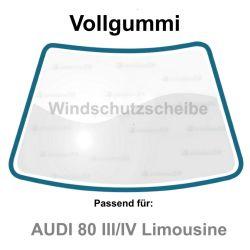 Rahmen Gummi Dichtung Frontscheiben Windschutzscheiben für Audi 80 III/IV Limousine