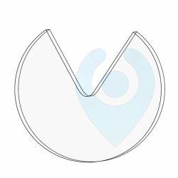 Lichtsensor Regensensor klebe Plättchen klebend ko-rep SKP3 Durchmesser 43mm x  2mm