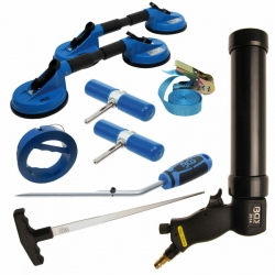 Profi Autoglas Werkzeuge Frontscheibe Windschutzscheibe Montageset BGS 9 T