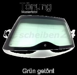 Heckscheibe für Toyota Avensis Typ T27 Bj.2008 > Grün getönt SH-HSG444