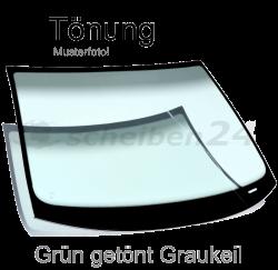 Frontscheibe Windschutzscheibe für BMW 3-Er Typ E90, E91 Bj.2004-2012 Grün getönt Graukeil SH-WSG395