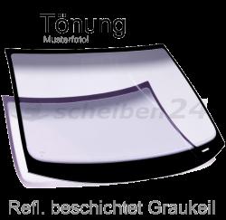 Frontscheibe Windschutzscheibe für BMW 5-Er Typ F10,F11 Facelift Bj.2012-2016 Reflexion beschichtet Graukeil SH-WSG483