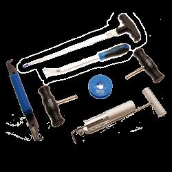 Windschutzscheiben-Ausglaswerkzeug-Satz für verklebte Scheiben